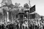 Торжественный митинг в Ташкенте в честь установления Советской власти. 1917.