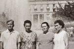 У театра имени Навои. 1975 год.