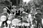 Участники соревнования в Чиланзарском районе.1968г. Ул. Гагарина.
