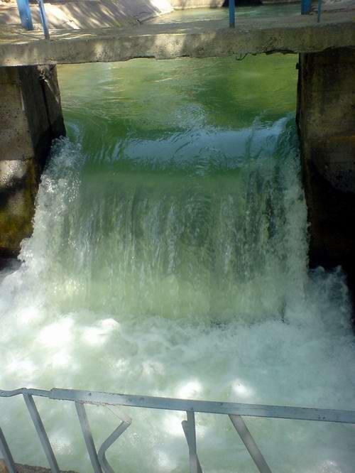 Водопад в парке Гафура Гуляма