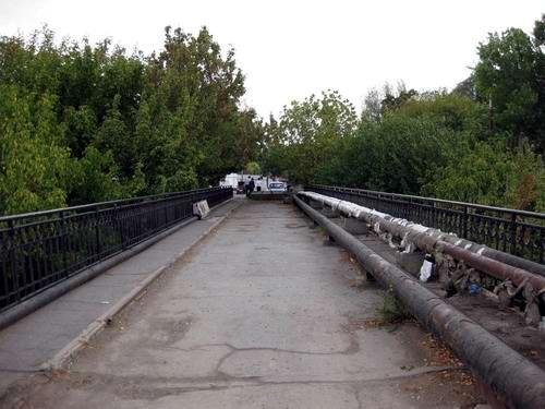 Акведук в Ташкенте