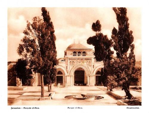 Ierusalim Mechet Al Aksa 1063x812