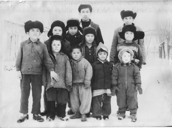 Махалля Кукча, ребята с нашего двора, ул.3-й Ахил, 1964 г.