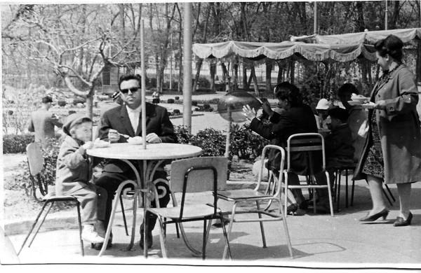 Парк Гагарина 1964 г.