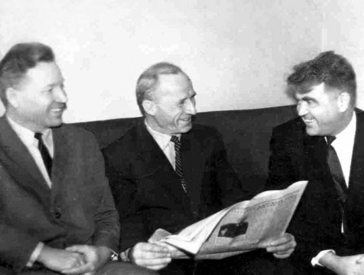 Встреча с друзьями, 1965