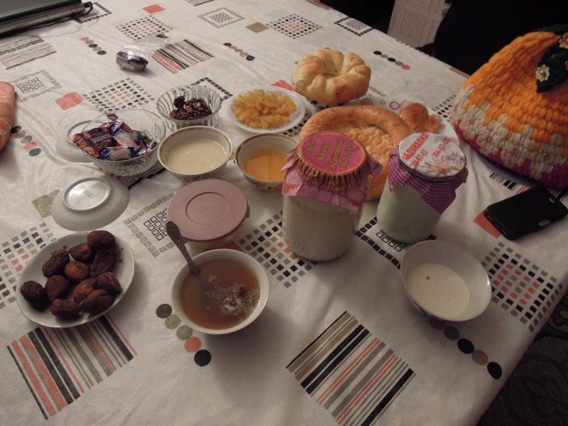 Завтрак на Кукче
