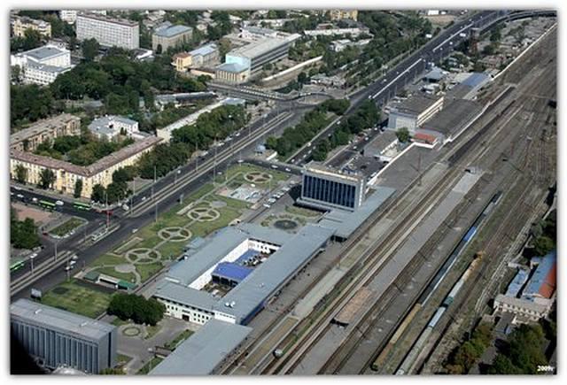 Вокзал Ташкент Башня
