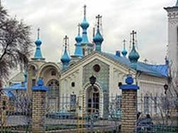 Воскресенский кафедральный собор Бишкека.