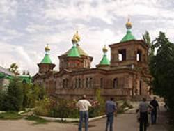 2.храм  Святой Троицы (г.Каракол-быв.г.Пржевальск)