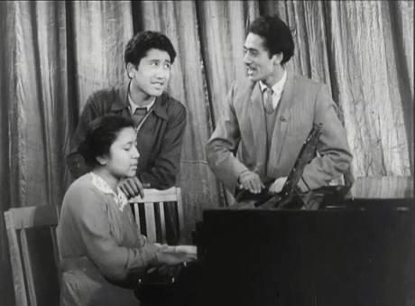 Батыр, Луиза и Науфаль Закировы. Снимок 1956 года