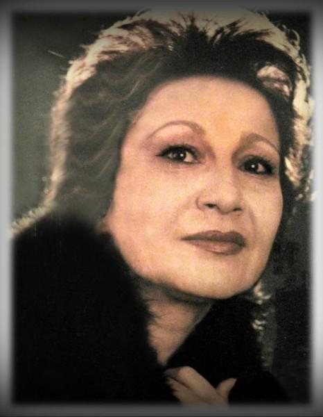 Луиза Закирова. 70-е годы.