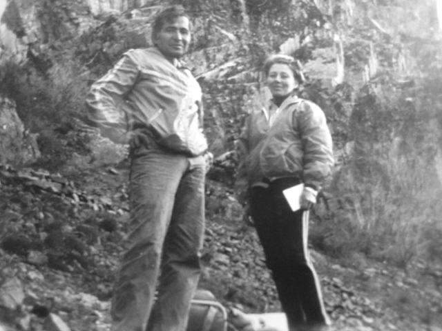 Гайрат Махмудходжаев с женой Иреной