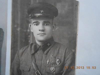 Альбрандт Евгений Фридрихович 1918 г. р., служба в армии 1939 г.