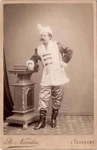 Фото актёра Милошевского 1898 г.