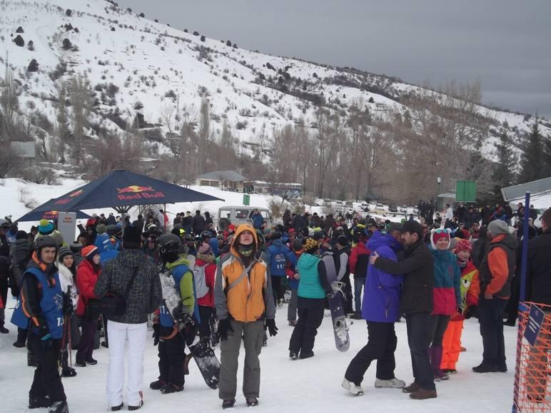 Участники и гости на Горе