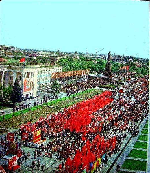Ташкент. Демонстрация 1 мая