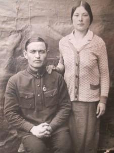 Нафиковы Вализян и Зайтуна, 1939 г.