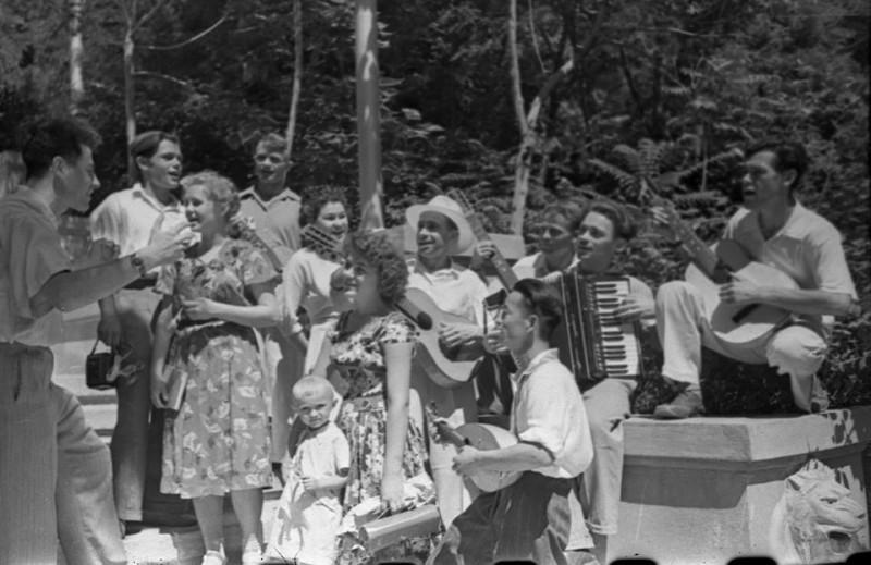 Парк Тельмана, 1958 год