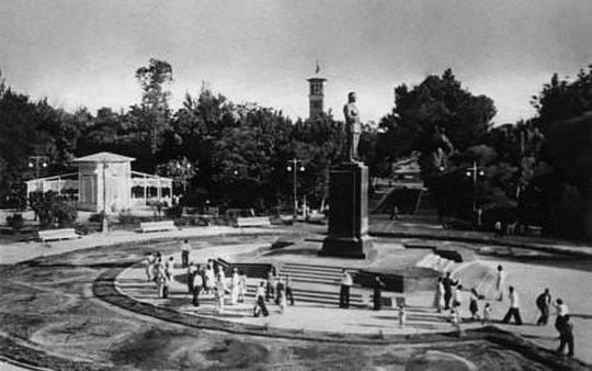 Сквер, 70 лет назад