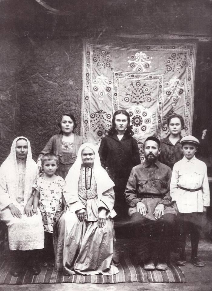 архивные старые фотографии татарского народа при
