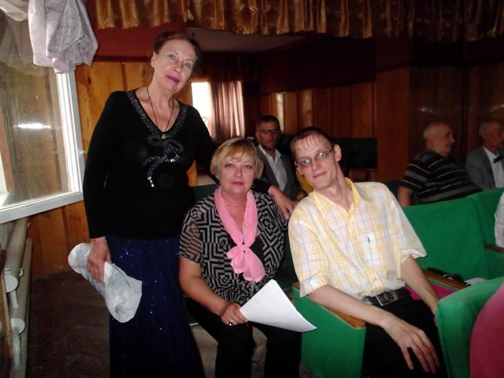 Ольга Михайловна, Саша Евсеев и я