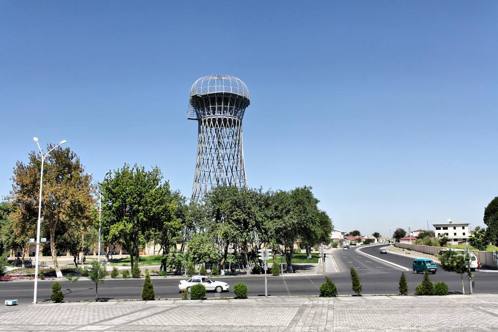 Вокзал водонапорная башня ташкент
