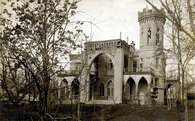 Дворец князя Шаховского на Саларе