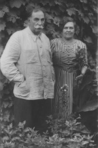 Лубенцов с женой