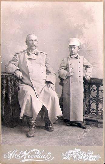 Яков Седов с сыном Николаем