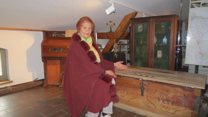 Этот меннонитский сундук в музее Данцига - копия того, что стоял в нашем доме...
