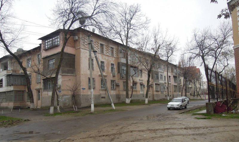 Старые дома на Стахановцев