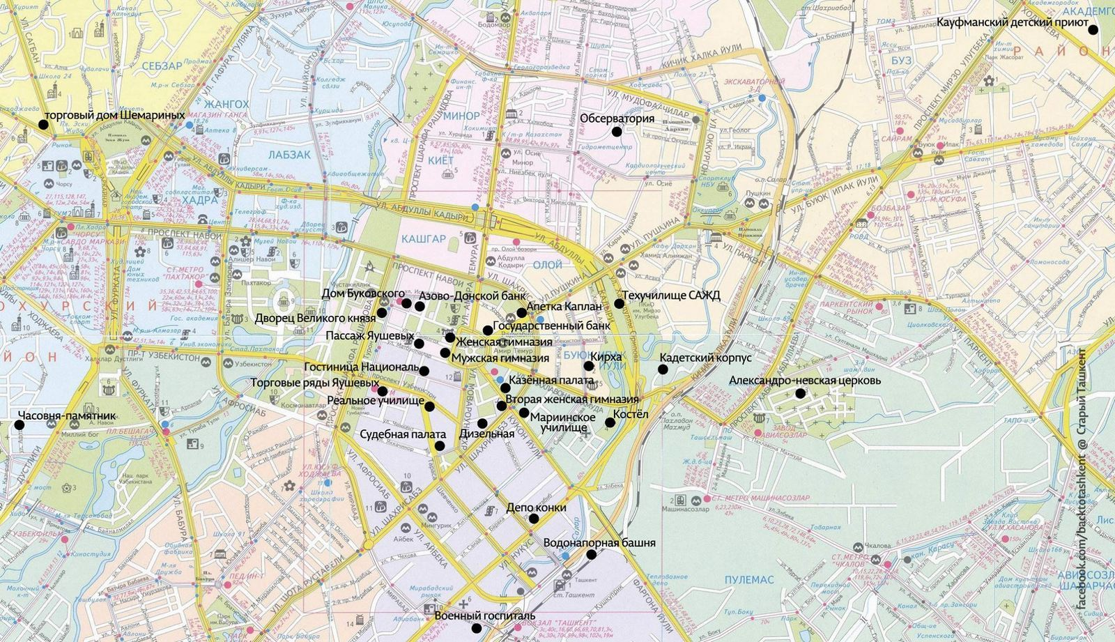 фото карта ташкент вот откуда основном