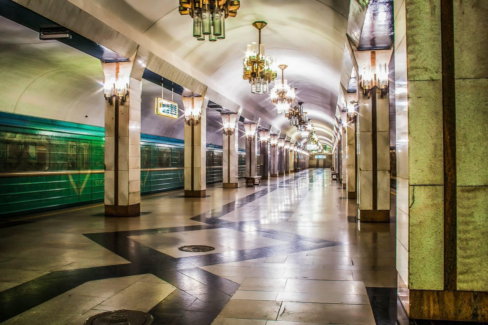 фото ташкентских станции метро таких