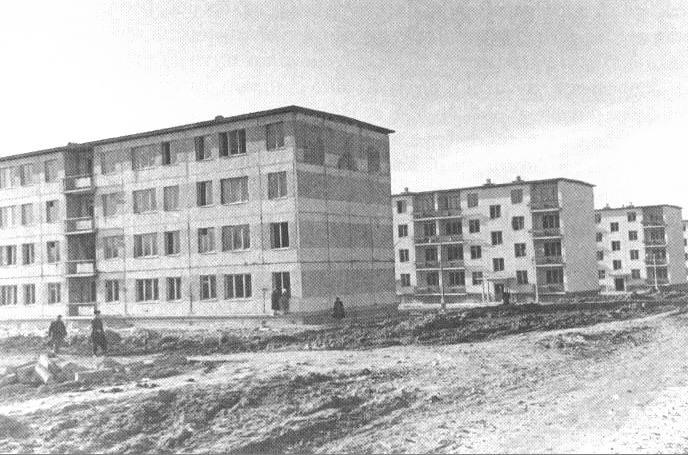 Ташкент - СССР недавно построенные жилые дома