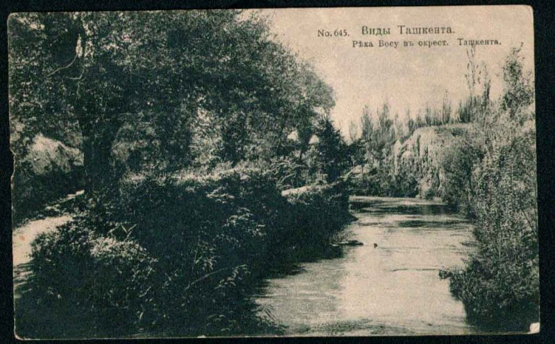 Ташкент Река Босу