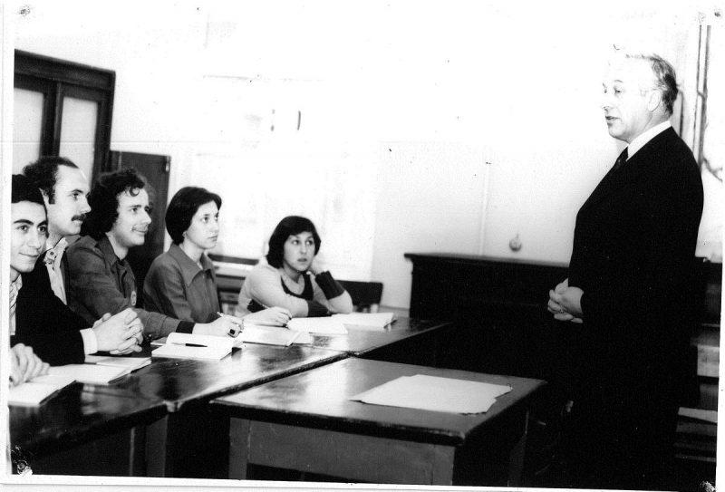 Лекция С. Н. Иванова (1970)