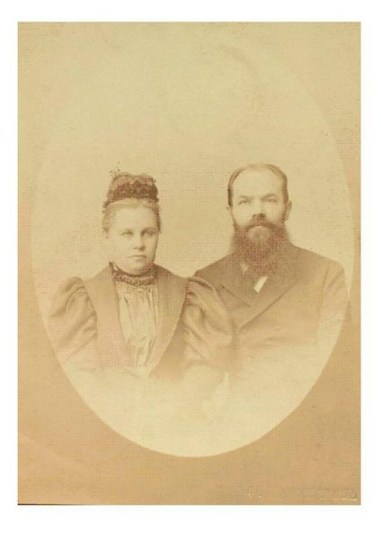 Н. П. Остроумов с супругой Ольгой Дмитриевной