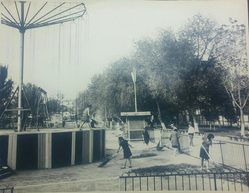 Старые фото центрального парка самарканда