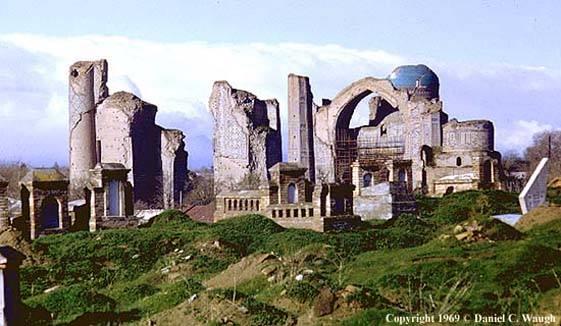 Мечеть Биби-Ханым, Самарканд, историческая фотография